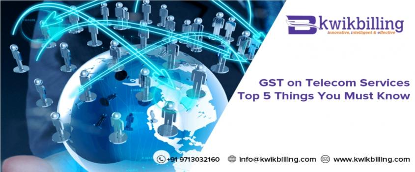 GST on Telecom Services: Top 5 Things You Must Know